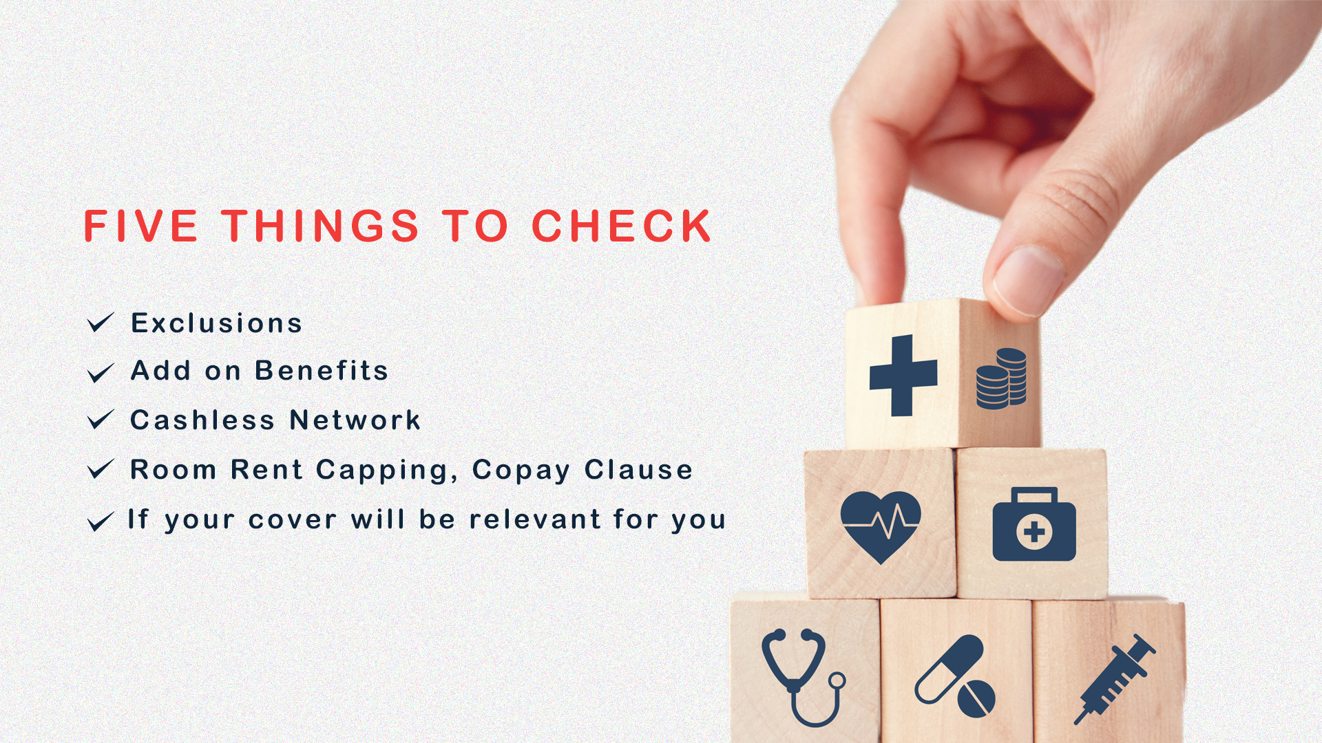 health insurance, health policy, buy insurance, insurance clauses, five things to note in your health insurance policy